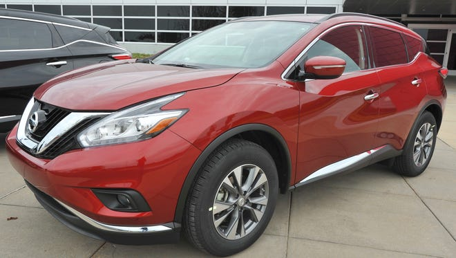 Nissan's Canton manufacturing facility started production of the Murano last year.