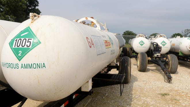 There are a lot of hazards in the agriculture industry, but anhydrous ammonia is one hazard that deals a lot of damage in a small amount of time.