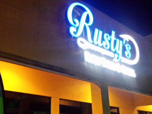 Rusty S Raw Bar And Grill In Estero Florida During