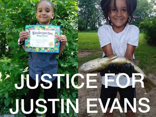 Justin Evans Jr., 6, was shot and killed in Milwaukee