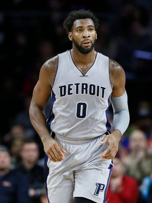 Andre Drummond is averaging  a league-leading 15.7 rebounds a game.