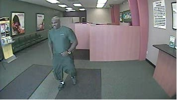 Suspect in Tuesday robbery of Check N Go