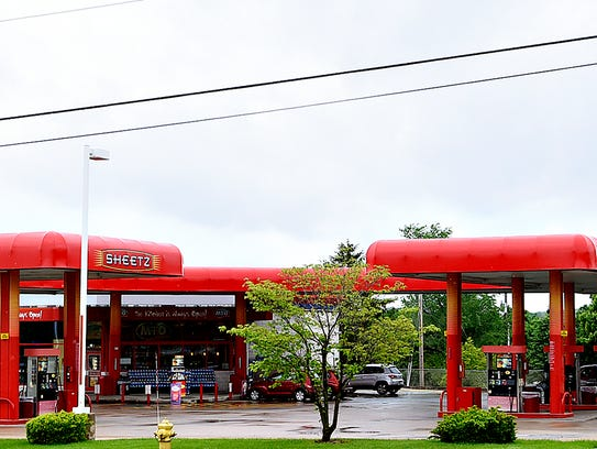 Sheetz, located at 2721 South Queen Street, is shown