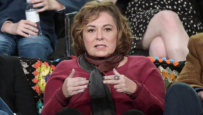 Roseanne Barr on January 8, 2018.