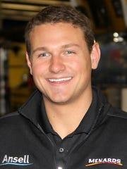 Matt Kurzejewski during ARCA Racing Series testing