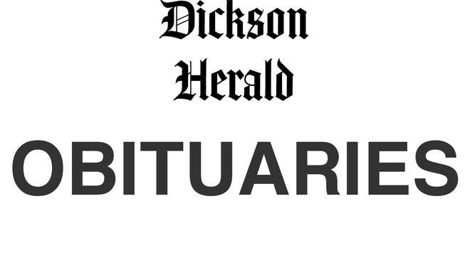 Dickson County obituaries.