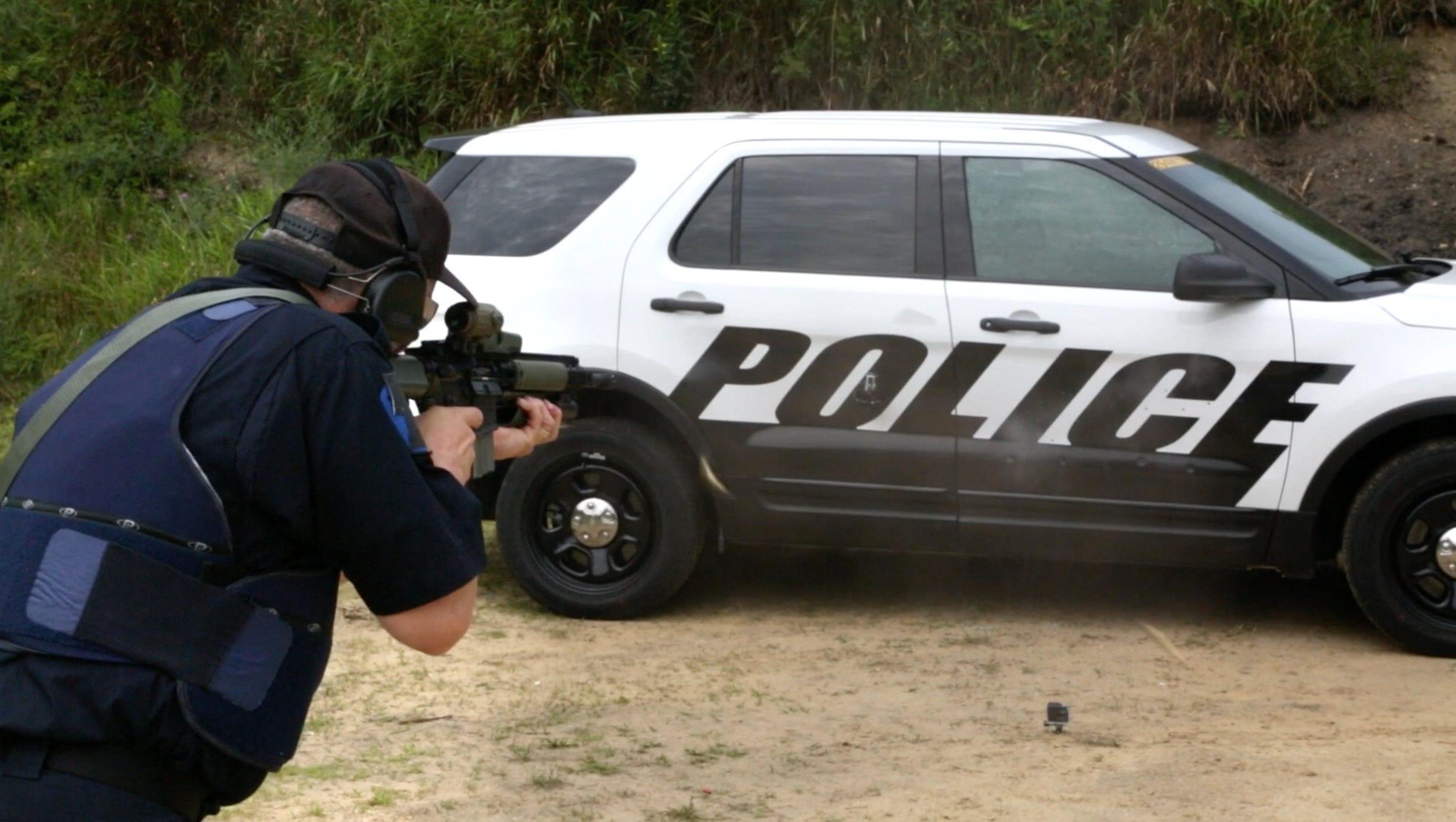 Police Shoot Up Doors Of Ford S Police Interceptor Suv