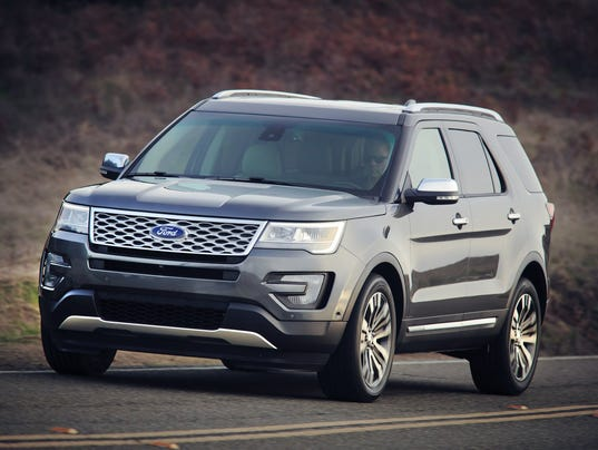 Ford Explorer Takes Luxury To New High - 2016 ford car lineup