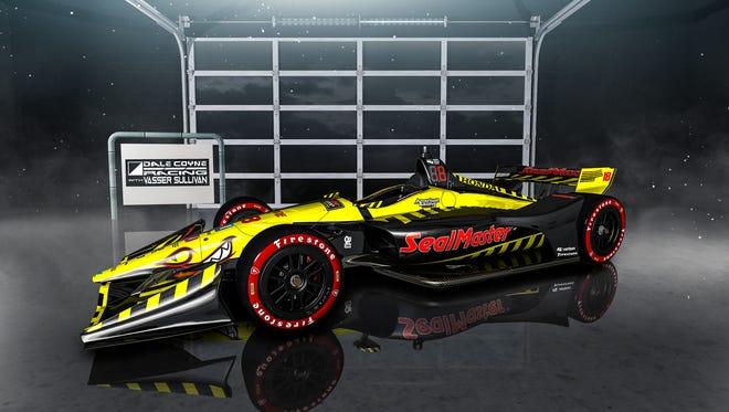 Dale Coyne Racing with Vasser-Sullivan driver Sebastien Bourdais will pilot the No. 18 SealMaster car for nine races -- including the Indianapolis 500 -- during the 2018 Verizon IndyCar Series season.