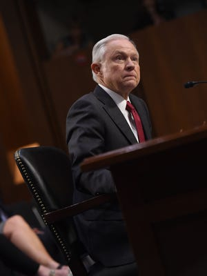 Attorney General Jeff Sessions on June 13, 2017.