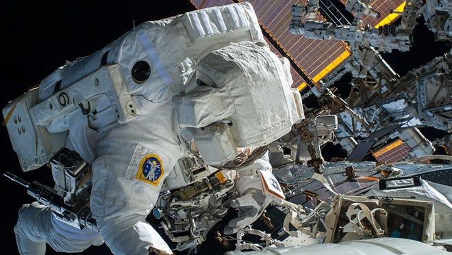 Spacewalk at ISS