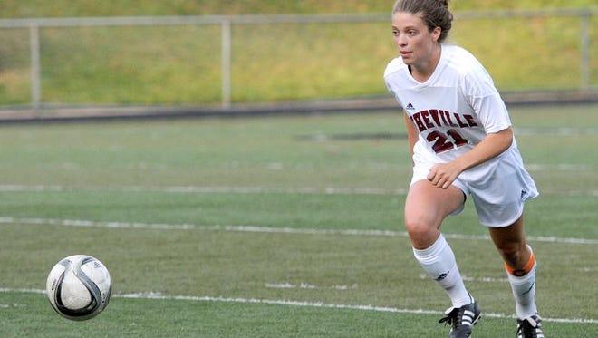 Asheville High senior Ellie Stone.