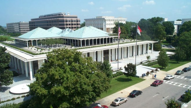 The state Legislative Building in Raleigh.