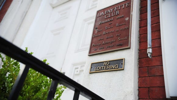The Lafayette Club, located in the first block of East Market Street in York, is now known as York College's Center for Community Engagement.