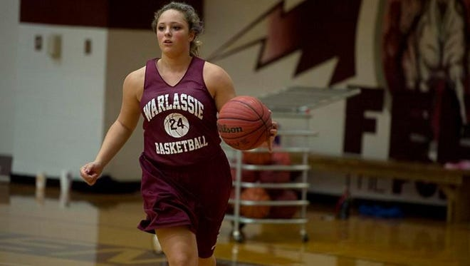 Owen sophomore Ashley Valencia has been an All-Western Highlands Conference athlete in three sports (basketball, softball and tennis).