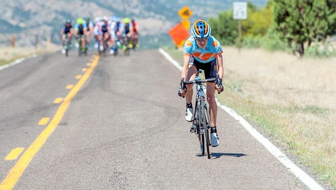 The Tour of the Gila was forced to alter the Mogollon finish in the first stage of the race this year.