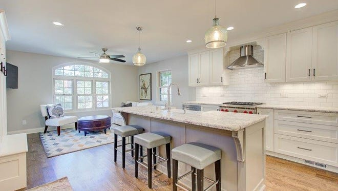 This room at a home in Whitefish Bay will be among those on display Saturday and Sunday during the NARI Milwaukee Tour of Remodeled Homes.