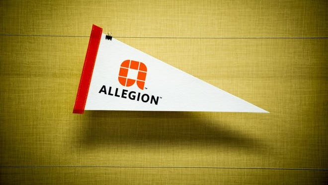 Carmel-based Allegion, formerly the Security Technologies division of Ingersoll Rand, became an independent company on Dec. 2, 2013, when it was spun off into a $2 billion global provider of mechanical and electronic security products and solutions for homes and businesses.
