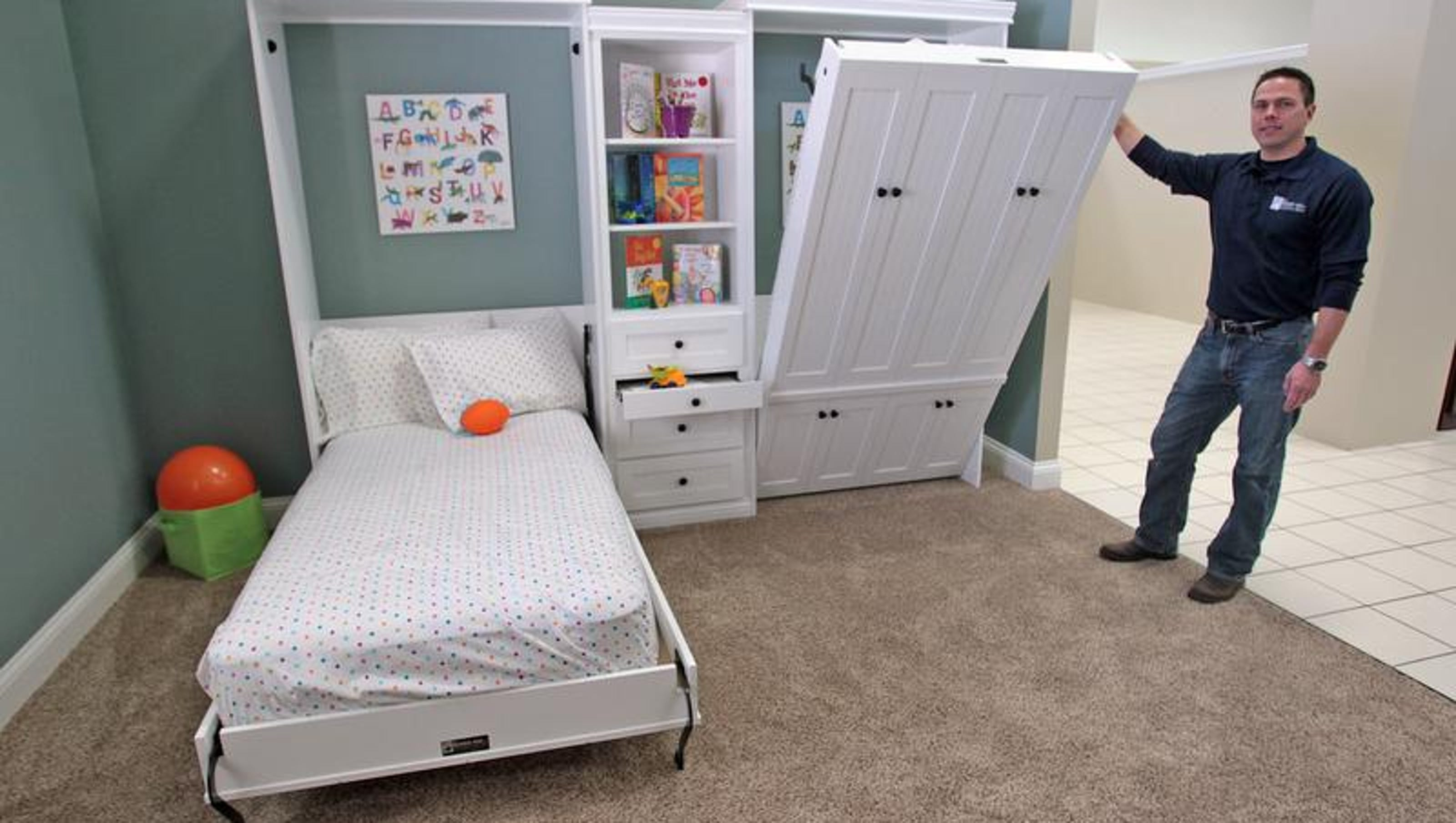 For Murphy bed maker, idea unfolded into a business