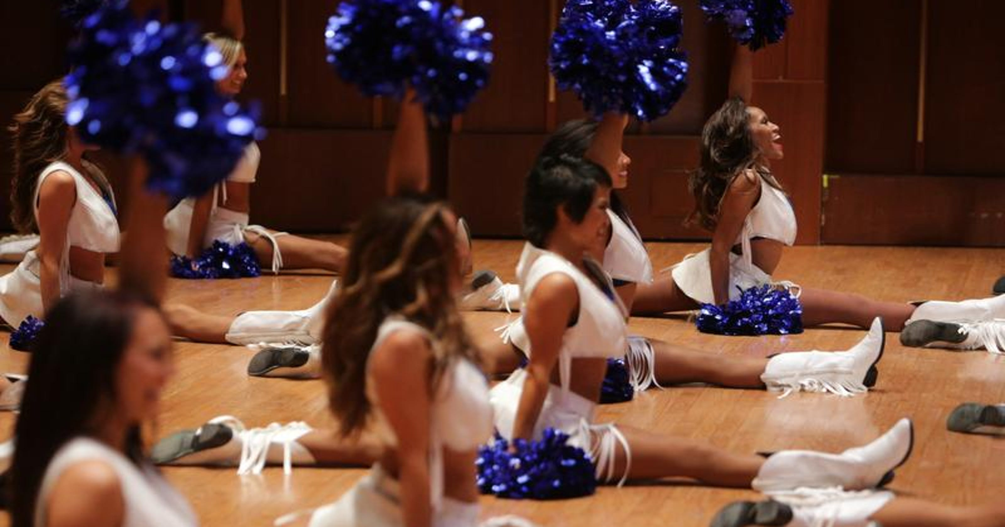 bcaec67c Watch live as 2014 Colts cheerleaders are chosen