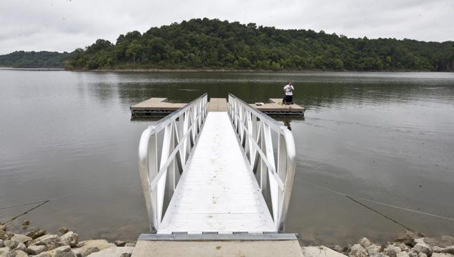 Brothers Tim and Jason Miller of Valley Station--who have fished in Taylorsville Lake for over 30 years--have noticed a drop in the boating and swimming this summer as a result of the ecological scare.