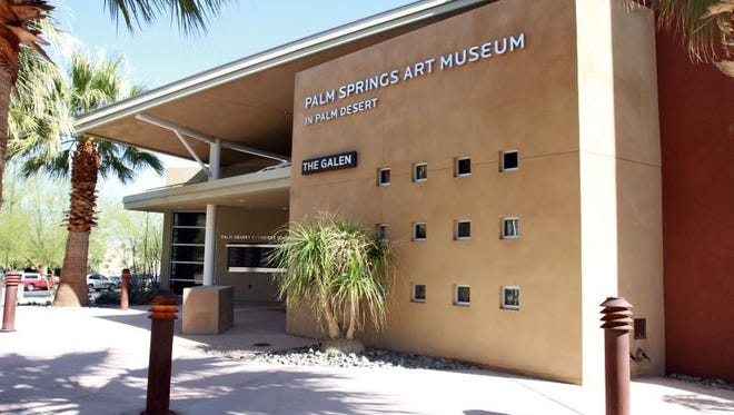 The Palm Springs Art Museum in Palm Desert is located at the corner of El Paseo and Highway 111 in Palm Desert.