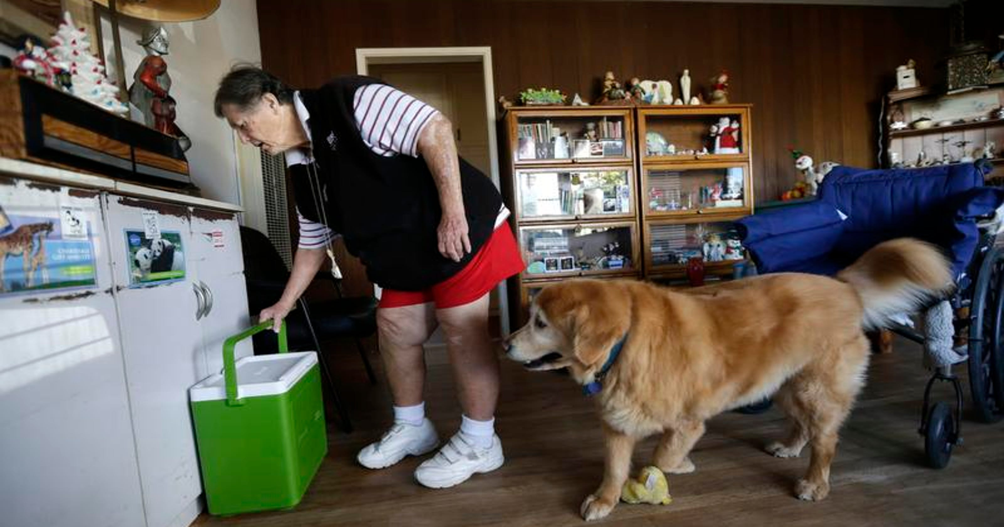 Seniors, disabled get help feeding furry friends