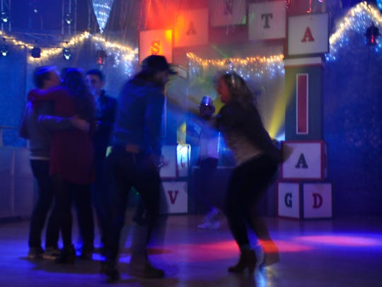 Scenes from the 35th Epic New Year's Eve Bash at the