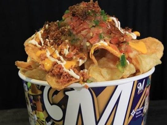 The Bratcho is a new food item served at Maryvale Baseball