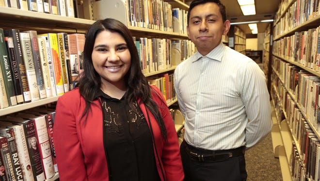Lisdy Contreras-Giron, 18, of Mount Kisco, and Carlos Panjon, 18, of Ossining, are the first from their families that will go to college.
