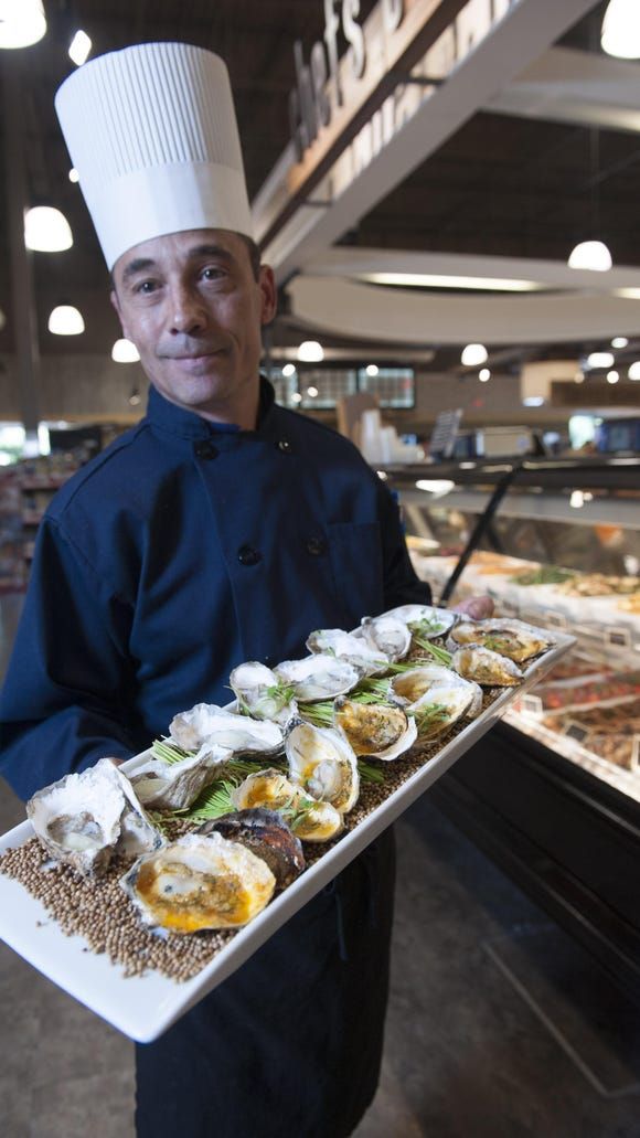 Chef Kevin Giunta will conduct a cooking demo at 3 p.m. Saturday July 23 at Rastelli  Market Fresh, during anniversary celebrations.