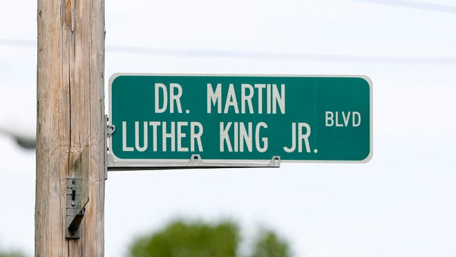 Dr. Martin Luther King Jr. Boulevard in Muncie.
