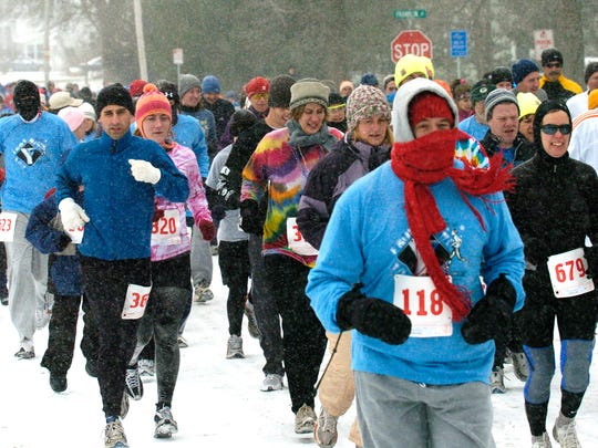The 42nd Annual Frostbite Road Race and Winter Walk