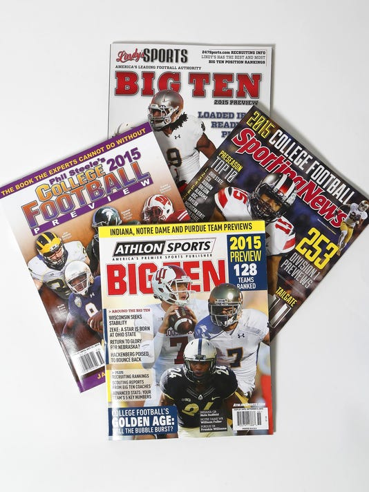 LAF Pfoot magazines