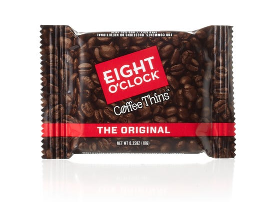 The new Coffee Thins from Eight O'Clock.