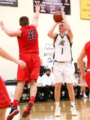 Marcus Domask is averaging 29.5 points and went over the 1,000 career point mark in the season opener.