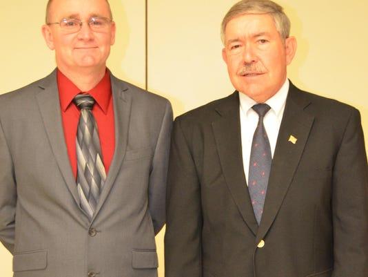 Re-elected directors Gray (l) & Rex (r)