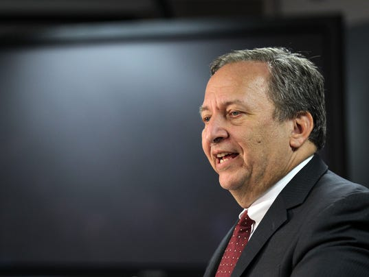 Lawrence Summers Gives Speech On His Tenure At NEC