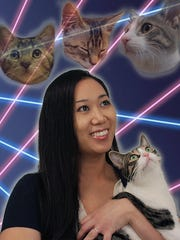 Christina Ha, co-owner of Meow Parlour, wasn't always a cat person.
