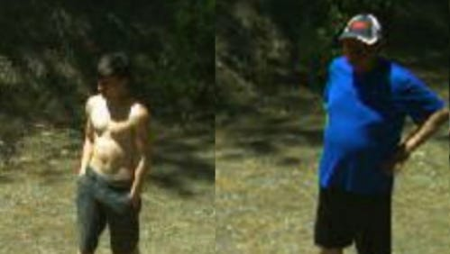 Two male suspects are wanted in connection to the vandalism, theft of a government camera at Whiskeytown National Recreation Area.