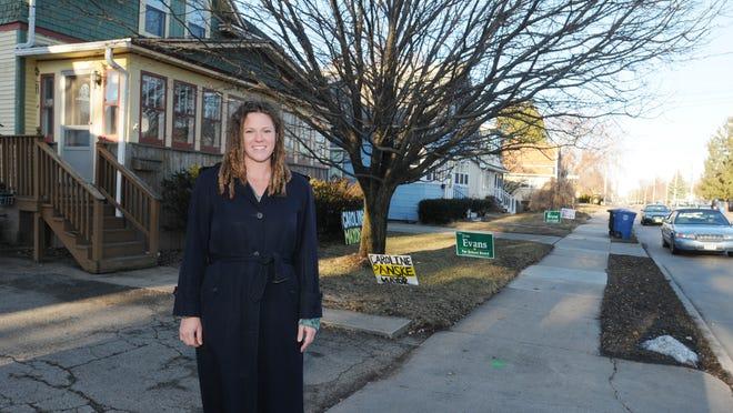 Caroline Panske is running to be Oshkosh's mayor in the April 7 election.