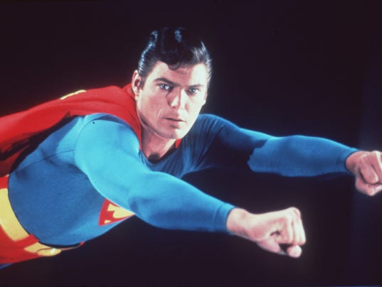 """... steel in """"Superman: The Movie"""" (1978). (Photo: Journal Sentinel files"""