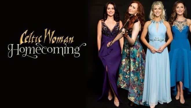 Celtic Woman, the multi-platinum international music sensation, will perform May 12, 2018, at Memorial Auditorium. Tickets go on sale Oct. 13.