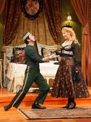 Ud s fun frantic patsy brings laughs but timing off for Broadly farcical