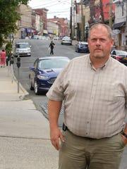 Haverstraw Mayor Michael Kohut stands on Main Street