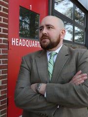 Deputy Commissioner Justin Pruyne at the Westchester