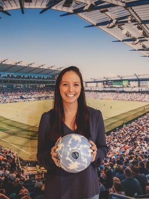 Meghan Cameron, a Roxbury and Rutgers alumna, is the first female member of a Major League Soccer coaching staff to manage player contracts.