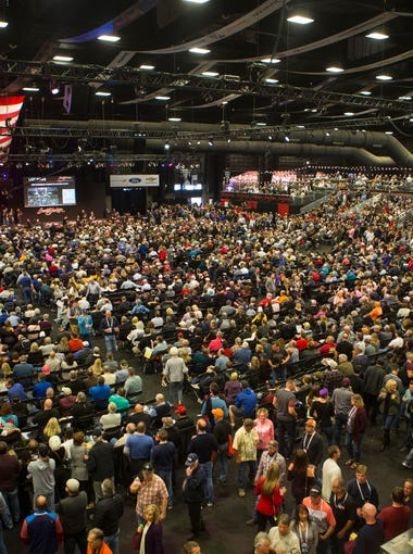 The Barrett-Jackson Auction takes place in Scottsdale on Saturday, Jan. 20, 2018.