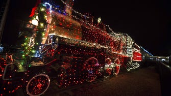 12/9-1/1: Holiday Lights at McCormick-Stillman Railroad Park | Hop aboard the Paradise & Pacific Railroad and enjoy a festive ride through a beautiful wonderland of displays and colorful lights. The opening night on December 9 features a tree lighting ceremony, visit from Santa and live music. The Jolly Old Elf himself will make nightly appearances at the park through December 23.  Details: 6:30-9 p.m. Friday, Dec. 9-Sunday, Jan. 1. Closed on Dec. 24, 25 and 31. McCormick-Stillman Railroad Park, 7301 E. Indian Bend Road, Scottsdale. $4, kids two and under are free with paying adult. 480-312-2312, therailroadpark.com.