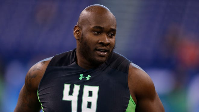 Former Ole Miss offensive tackle Laremy Tunsil is widely projected to be chosen first overall in the NFL Draft later this month.